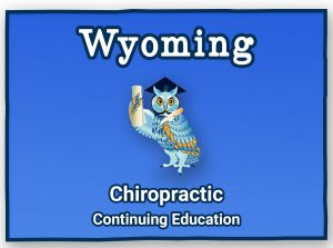Wyoming Chiropractic Continuing Education